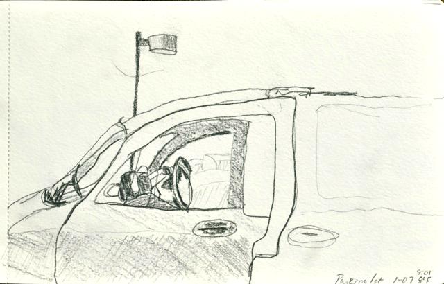 van drawing