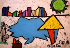 Dream of Blue: student work